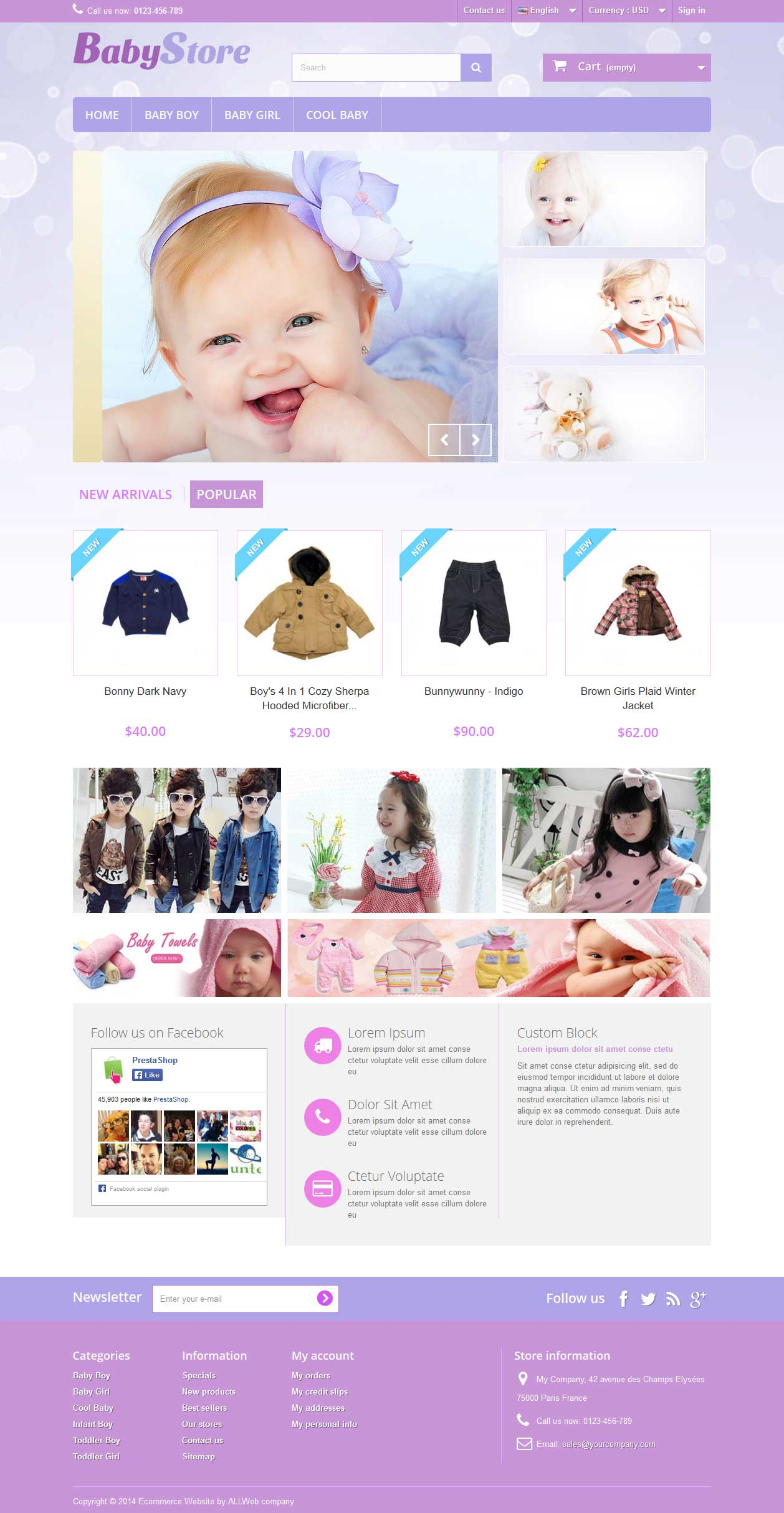 E-Commerce Template 1
